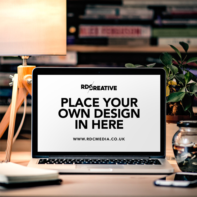 Macbook Mockup for Presentation